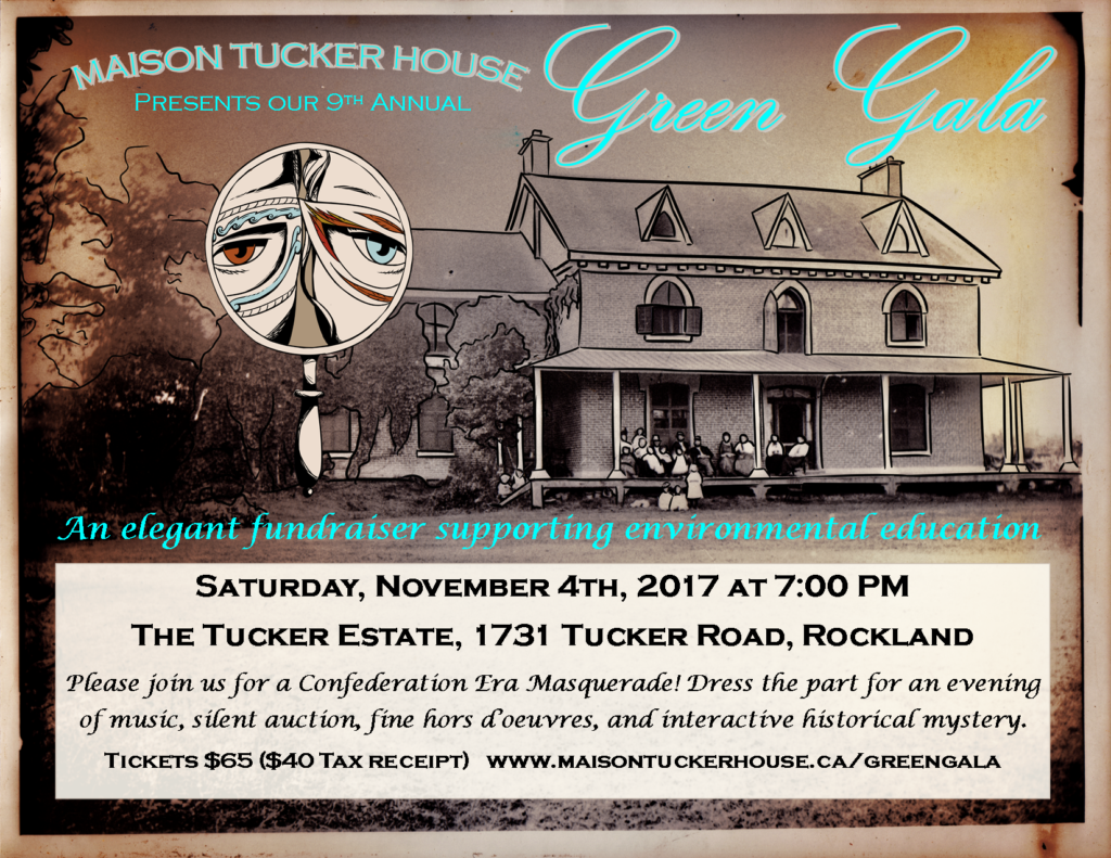 Green Gala 2017 invitation